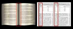 تصحیح-انحنای-کتاب